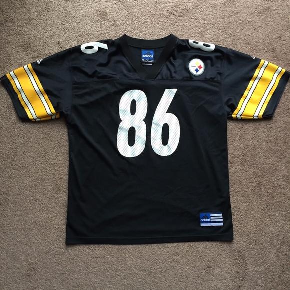 hot sale online 746be 9cf7b Vintage adidas Pittsburgh Steelers Jersey Ward L